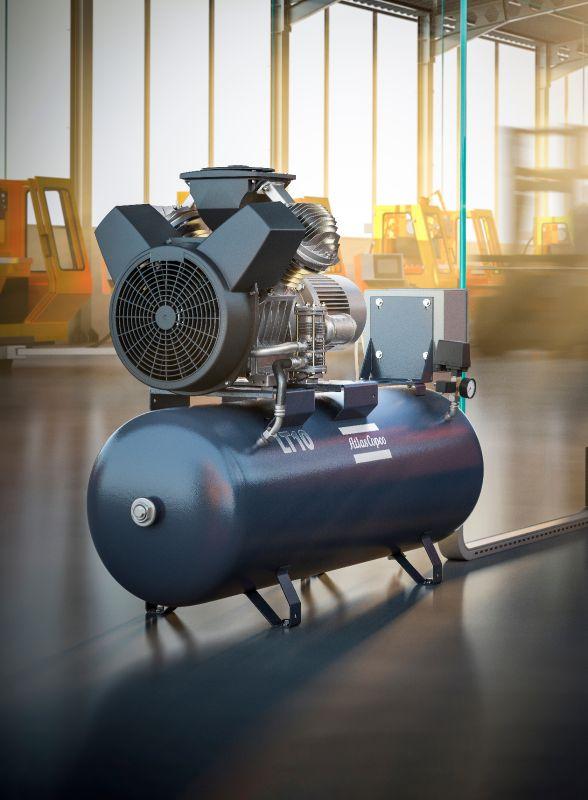 Le Lt Oil Lubricated Aluminum Piston Compressors Atlas