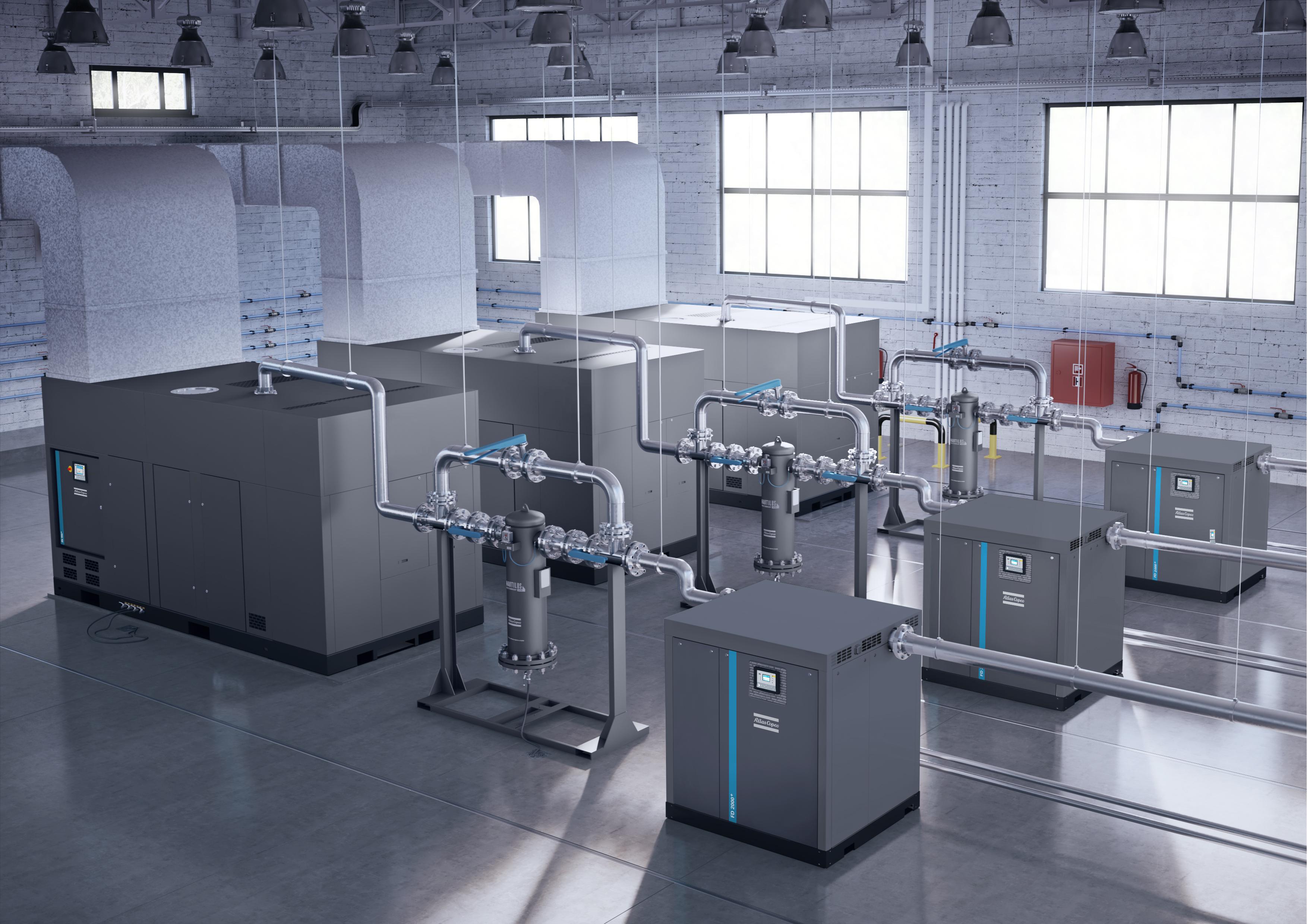 Air Dryers Atlas Copco Uk