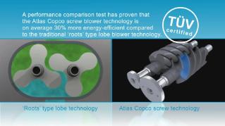 Screw versus lobe technology