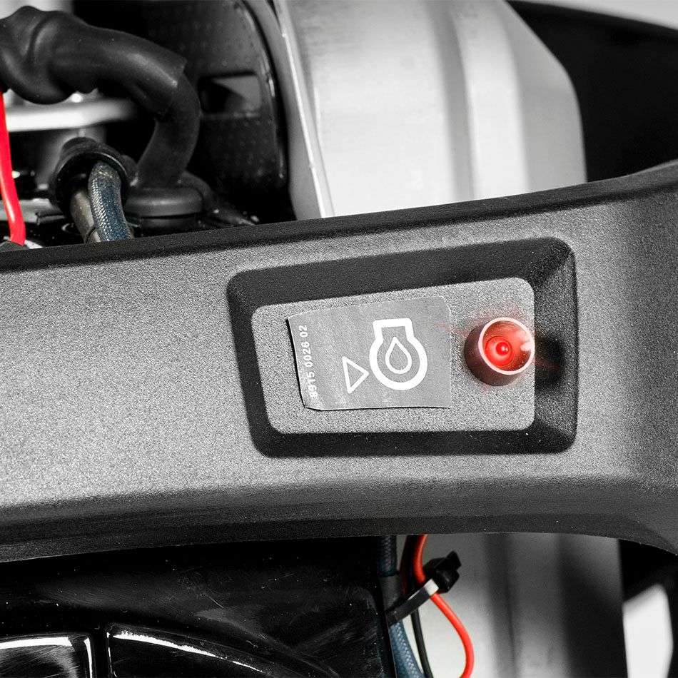 The LT5005 and LT6005 low oil pressure lamp. A low oil pressure lamp helps keep the engine fit.