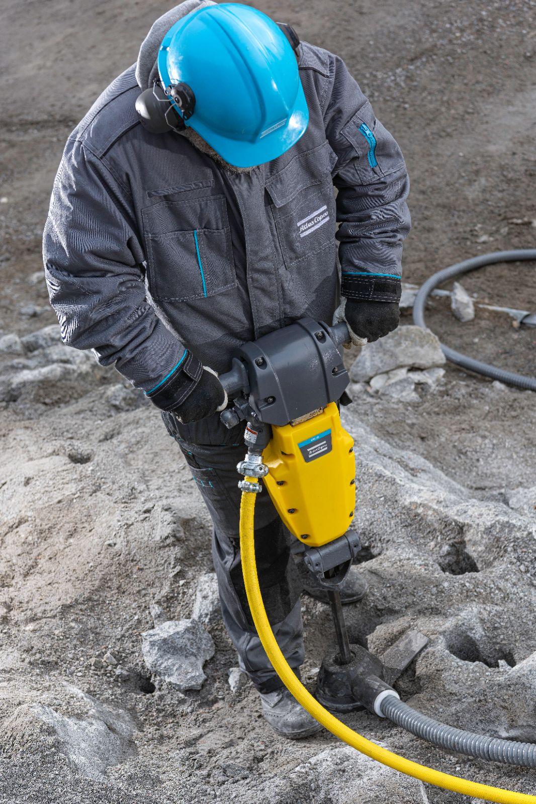 SRD 25 rock drill