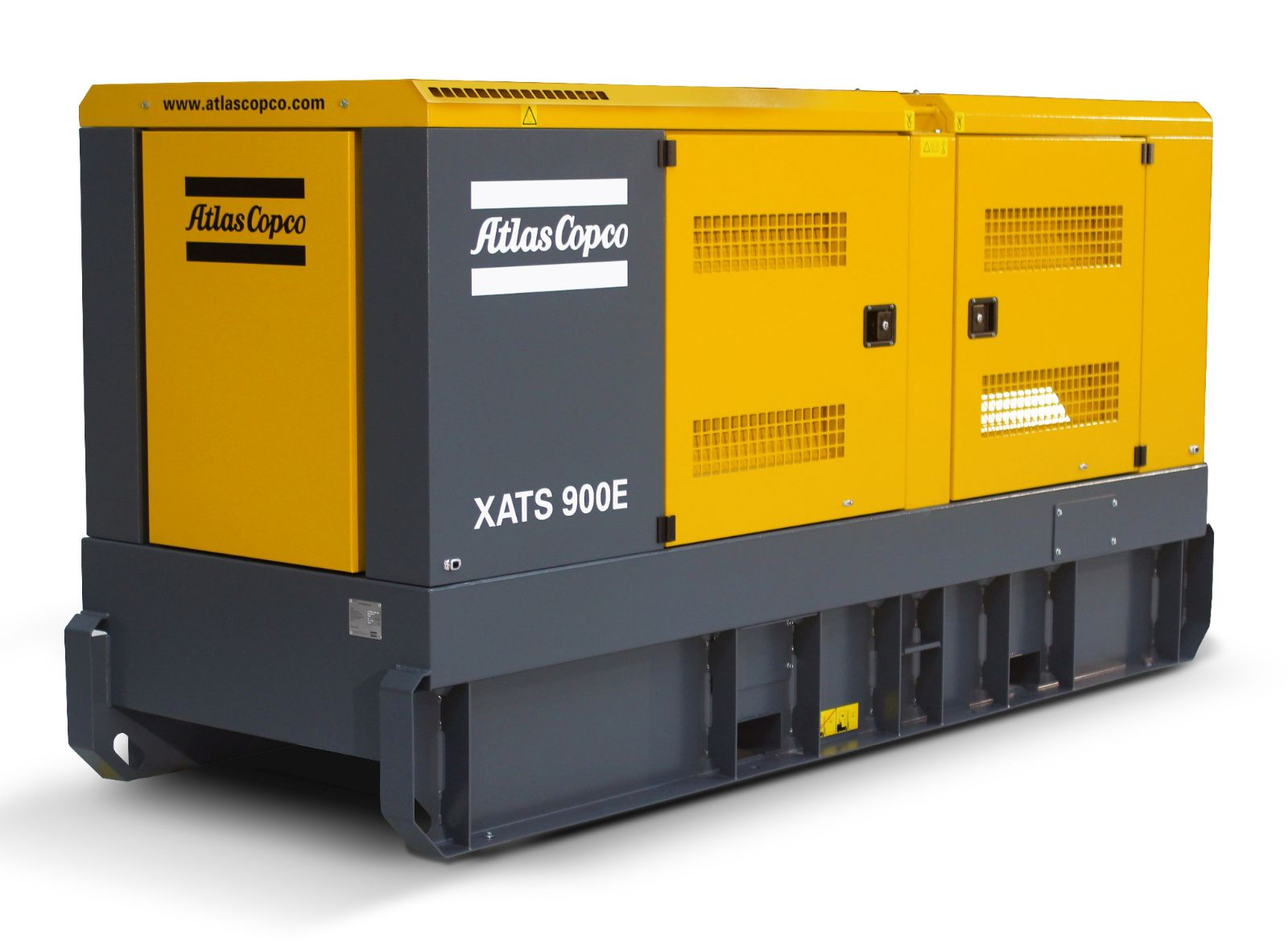 Atlas Copco Has Launched The Xats E An Electric Portable Compressor With The Versatility To Suit A Wide Range Of Demanding Applications