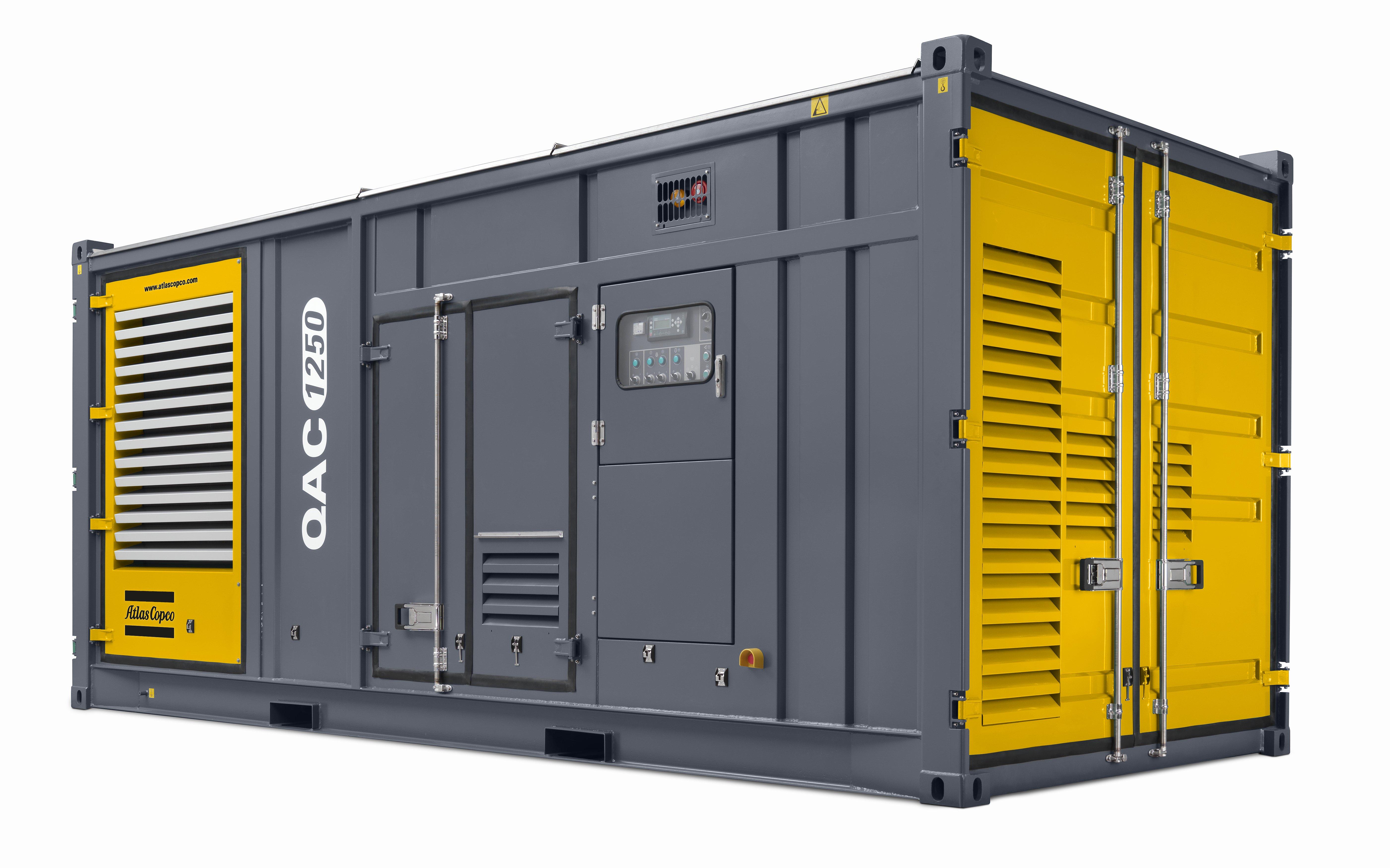 Diesel power generators Atlas Copco Zimbabwe
