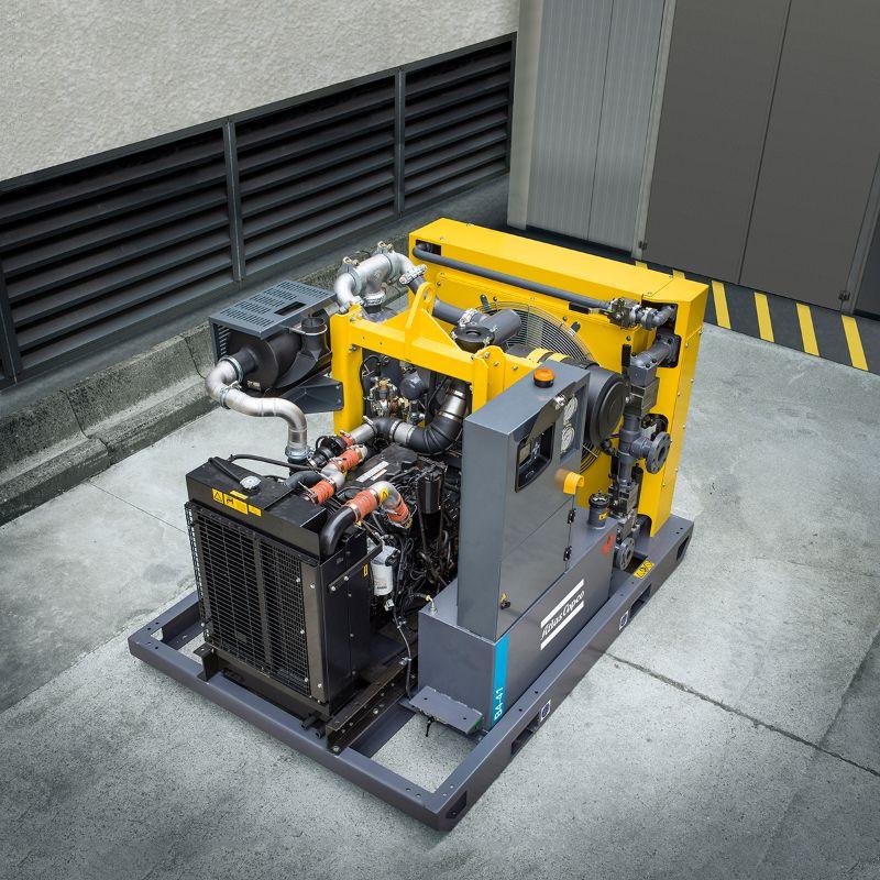 High Pressure Booster Compressors Atlas Copco Australia