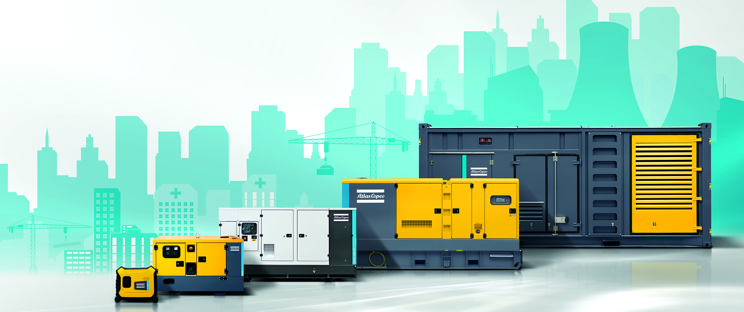 A complete power generator portfolio, the solution to fit your needs