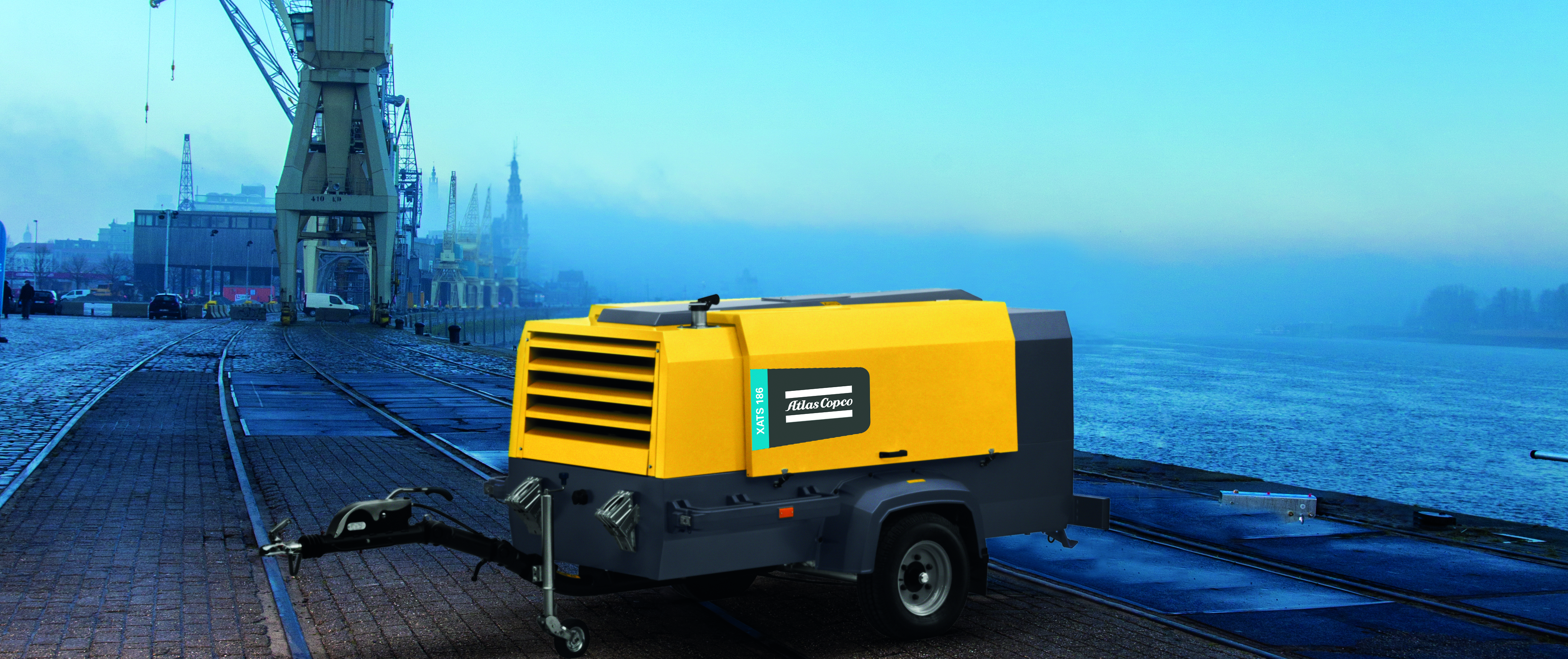 diesel air compressors, portable diesel air compressors, towable compressors