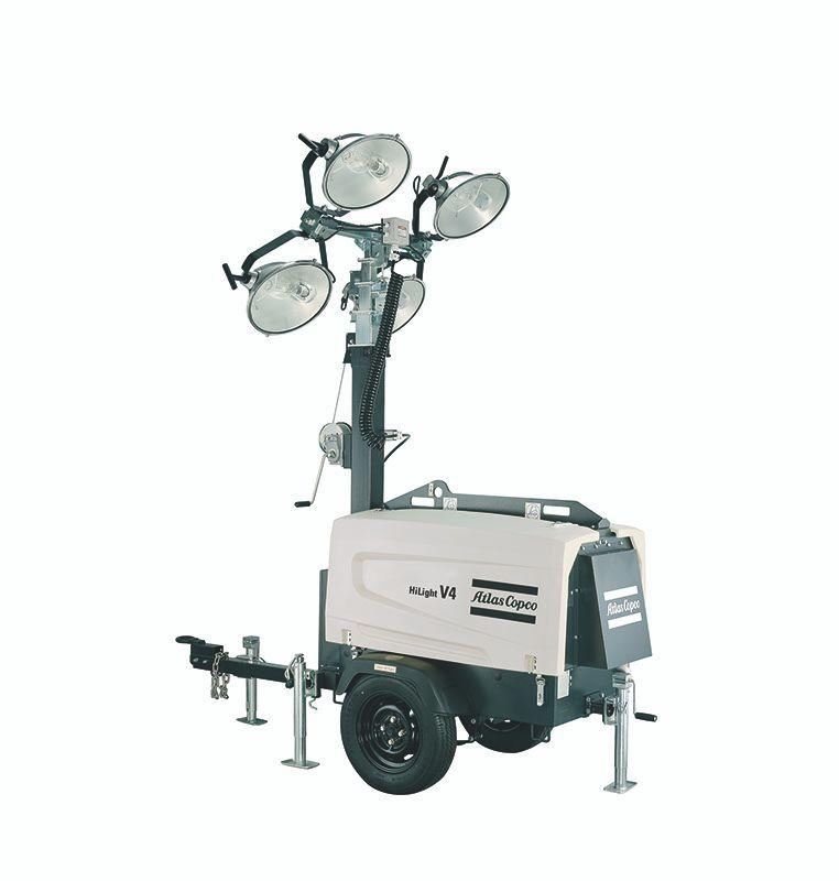 Portable Light Towers Price: Metal Halide HiLight V4