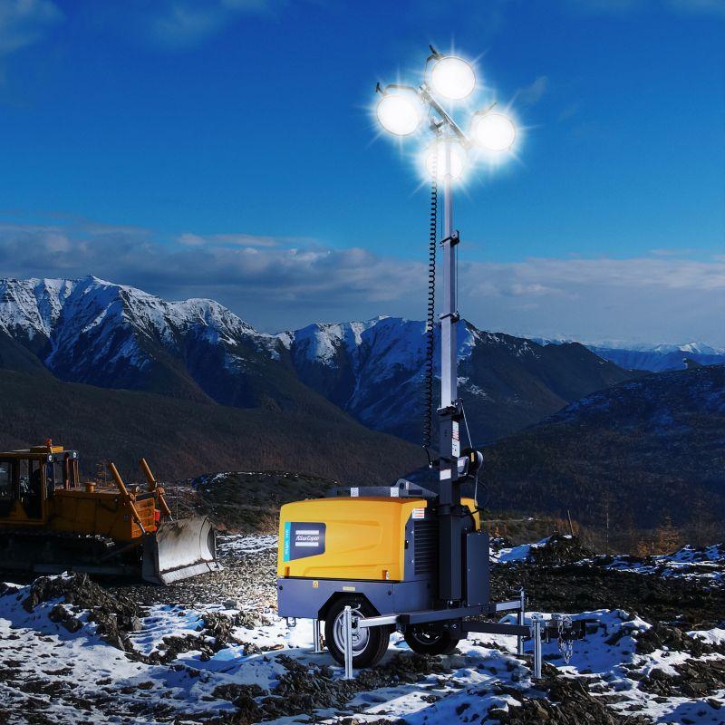 Metal Halide Portable Light Towers