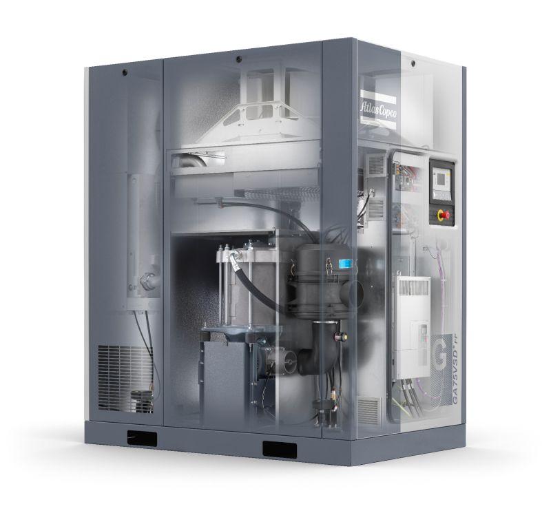 Screw Compressor Technology Explained Atlas Copco Australia