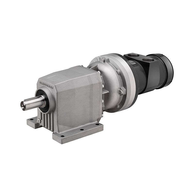 Vane Air Motor with Helical Gearbox LZL product photo